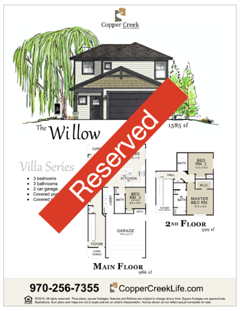 Willow Reserved