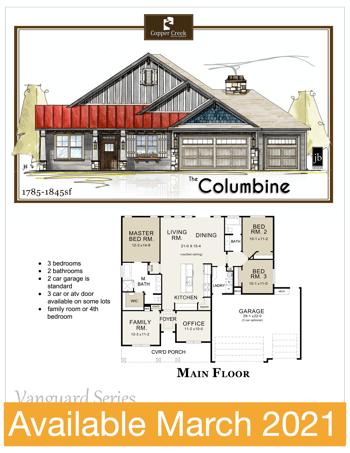 Lot 23 Columbine Sales Office March 2021