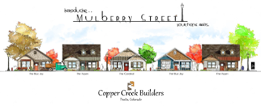 Mulberry Street New home construction in Fruita Colorado