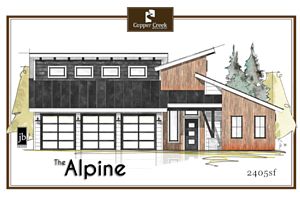 The Alpine - 450x300 Copper Creek Builders 2018 Parade Home
