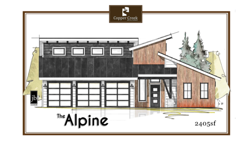 The Alpine - Copper Creek Builders 2018 Parade Home