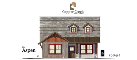 The Aspen new home construction at Mulberry Street in Fruita Colorado