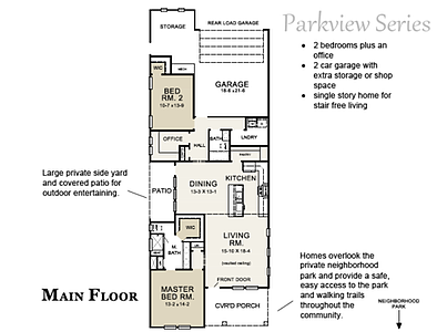 Blue Jay Floor Plan