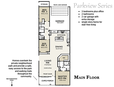 Cardinal Floor plan Parkview