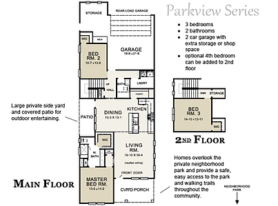 Osprey Floor Plan Parkview