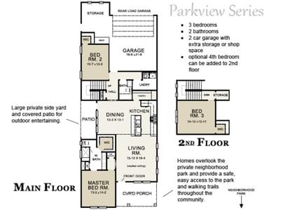 Osprey Floor Plan Parkview