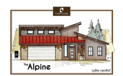 The Alpine new home floor plan construction in Grand Junction