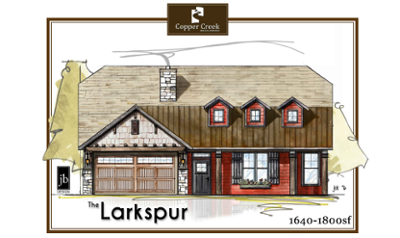 The-Larkspur new home floor plan construction in Grand Junction