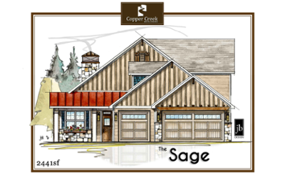 The-Sage new home floor plan construction in Grand Junction
