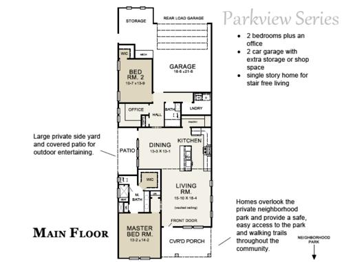 Blue Jay Floor Plan