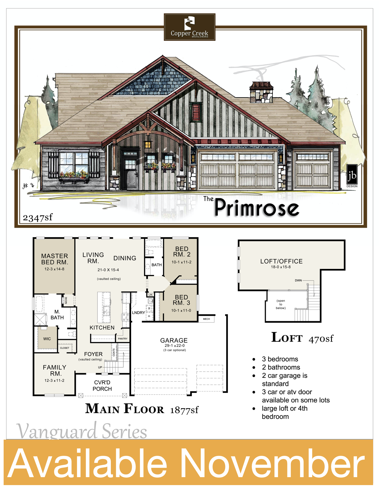 The Primrose Available November