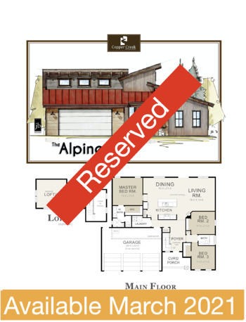 Alpine Reserved March 2021